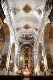 圣徒塞维利亚垂直的马德琳教会 库存图片