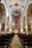 圣徒塞维利亚垂直的马德琳教会 免版税库存照片