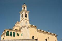 圣徒安东尼奥教会热那亚 免版税库存图片