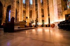 圣徒尤拉莉亚大教堂  免版税图库摄影