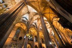 圣徒尤拉莉亚大教堂 免版税库存图片