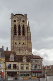 圣徒尼古拉斯,弗尔内,比利时教会  库存照片