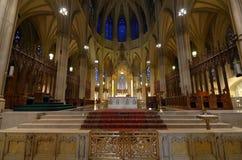 圣徒帕特克的大教堂 免版税库存照片