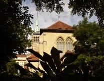 圣徒弗朗索瓦教会在洛桑,瑞士 库存图片