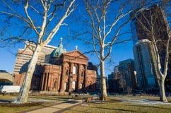 圣徒彼得和保罗大教堂大教堂  免版税库存照片