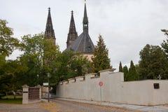 圣徒彼得和保罗大教堂  库存图片