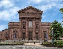 圣徒彼得和保罗,摇石广场,费城,宾夕法尼亚大教堂大教堂  库存图片