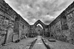 圣徒德克兰的教会 库存图片