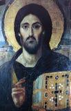 圣徒德米特里,市Frescoe萨洛尼卡,希腊 免版税图库摄影
