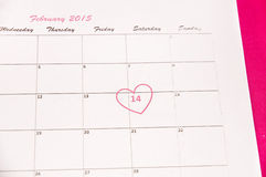 圣徒情人节- 14 2月 免版税库存照片