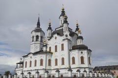 圣徒扎卡里和Elisabeth教会(Tobolsk) 免版税库存图片