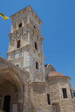圣徒拉撒路,拉纳卡,塞浦路斯教会  免版税库存照片
