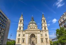 圣徒斯蒂芬斯大教堂布达佩斯匈牙利 库存照片
