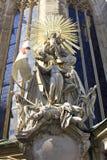 圣徒斯蒂芬的大教堂哥特式样式静脉奥地利 免版税库存图片