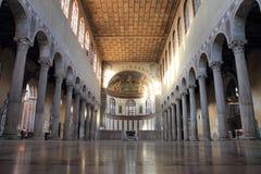 圣徒沙芬大教堂在罗马 库存图片