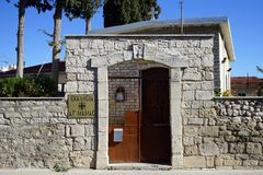 圣徒玛纳斯教会  库存图片