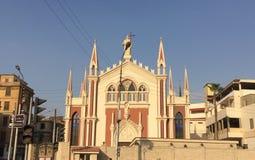 圣徒瑞塔马龙派教会 图库摄影