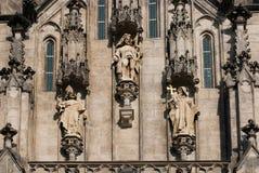 圣徒瓦茨拉夫大教堂, Olomouc,捷克 库存照片