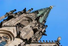 圣徒瓦茨拉夫大教堂, Olomouc,捷克 免版税库存照片