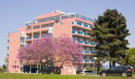 圣徒的康斯坦丁和海伦娜旅馆Sirius依靠 免版税图库摄影