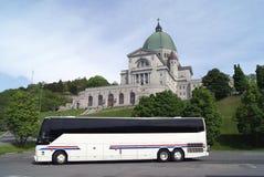 圣徒皇家山Joseph's讲说术在蒙特利尔,魁北克,加拿大 免版税库存照片