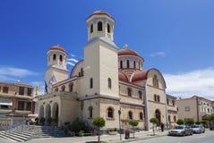 圣徒米纳斯大教堂  库存照片