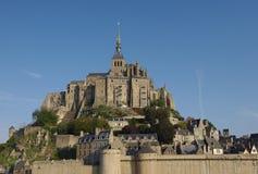 圣徒米谢尔城堡 免版税图库摄影