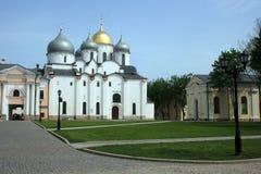 圣徒苏菲大教堂 novgorod俄国 免版税图库摄影