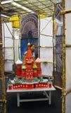 圣徒蓬蒿教会模型 库存照片