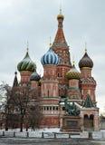 圣徒蓬蒿的大教堂,莫斯科 图库摄影