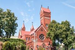 圣徒西蒙和海伦娜教会 免版税库存照片