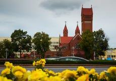 圣徒西蒙和海伦娜教会 免版税库存图片