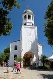 圣徒西里尔和Methodius教会2015年7月19日的在索佐波尔镇,保加利亚 图库摄影