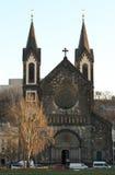 圣徒西里尔和Methodius教会  免版税库存照片
