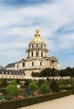 圣徒路易斯desInvalides大教堂 库存图片