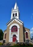 圣徒达明教会 库存照片