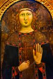 圣徒阿佳莎大师绘画中央寺院大教堂佛罗伦萨意大利 免版税库存照片