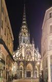 圣徒马克卢教会是天主教堂在鲁昂,法国 免版税库存图片
