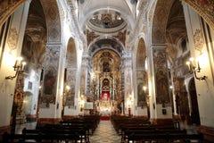 圣徒马德琳教会在塞维利亚 免版税图库摄影