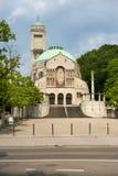圣徒贝恩哈德,德国天主教会  免版税图库摄影