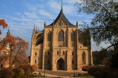圣徒巴巴拉的教会 库存照片