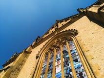 圣徒巴巴拉` s教会 免版税库存照片