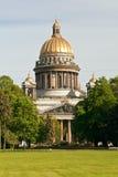 圣徒以撒大教堂,圣彼得堡,俄罗斯 免版税库存照片