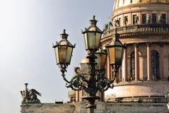 圣徒以撒大教堂,圣彼德堡,俄国 免版税图库摄影