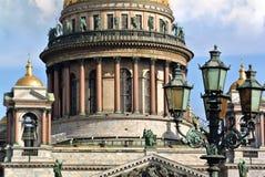 圣徒以撒大教堂,圣彼德堡,俄国 库存图片
