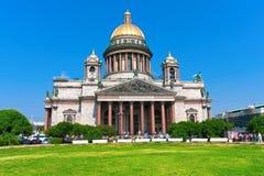 圣徒以撒大教堂 免版税库存图片