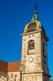 圣徒贝桑松吉恩大教堂  免版税库存图片