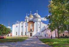 圣徒索菲娅在诺夫哥罗德 免版税库存图片