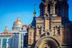 圣徒索菲娅大教堂,是位于Daoliin中区的一个前东正教教会在哈尔滨市 免版税图库摄影