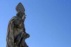 圣徒Adalbert雕象   免版税库存照片
